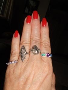 Dan's L&L-Silver rings