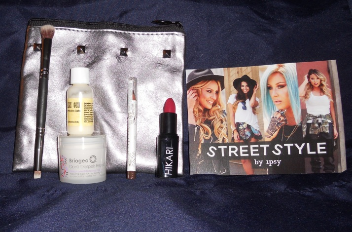 Sept. 2014 Ipsy Glam Bag