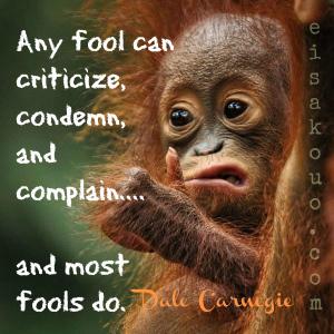 complaining fools