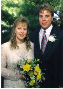 Wedding photo 1995