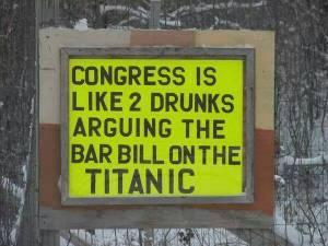 congress drunks