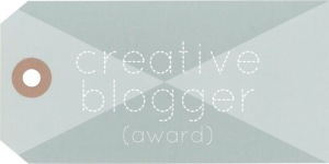 Creative Blogger Award 3-22-15
