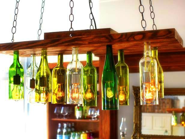 Ways to reuse wine bottles cornfedcontessa for Easy break glass bottles