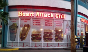 Heart Attack Grill Signage 3