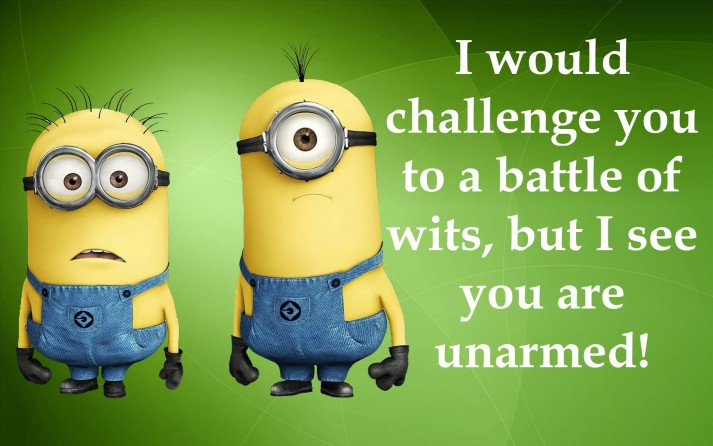 Minion Battle of Wits Orlando Espinosa
