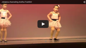 This Sassy Little Dancer Channeling Aretha Franklin Brings Down The House With Her Performance