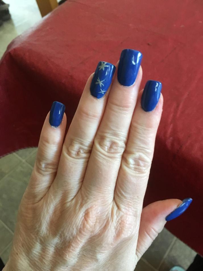 DIY Acrylic nails 5-28-16