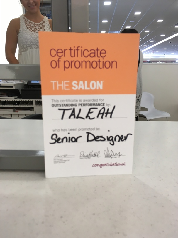 Haircut 6-24-16 Taleah info