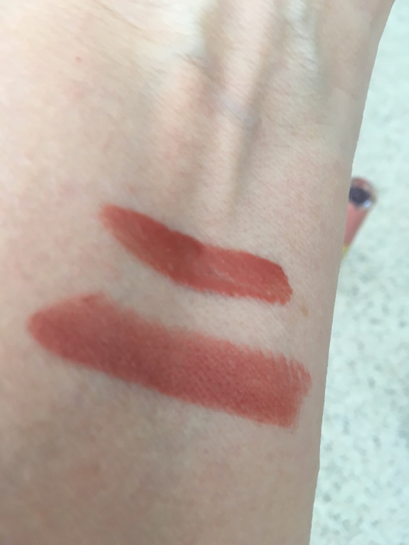 Tarte Make over Swatch Lip color 6-24-16