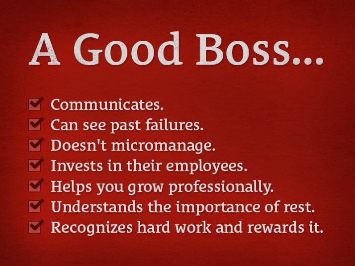 Good boss 7-15-17