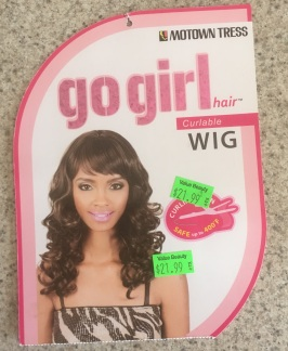 Wig tag dark blonde 9-16-17