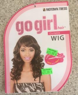 Wig tag dark blonde 9-16-17