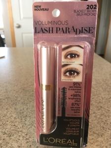 L'Oreal Lash Paradise mascara 12-31-17