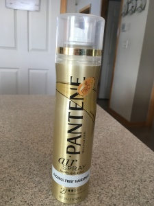 Pantene Air Spray alcohol free hair spray 12-31-17