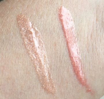 Believe Beauty Lustrous Shine Lipgloss swatches 9-22-19