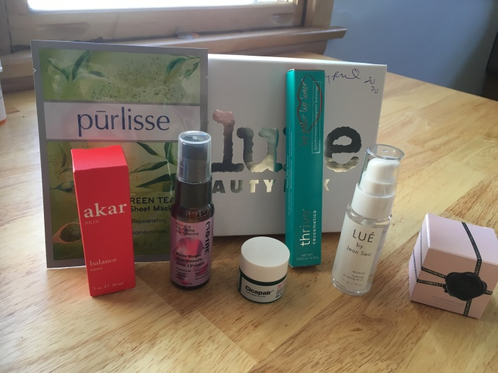 Allure Beauty Box April 20